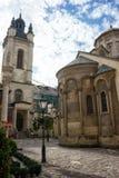 03 10 2017 Armeńska katedra wniebowzięcie Mary, armenian sąd Zdjęcie Royalty Free