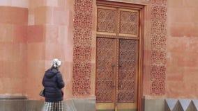 Armeński kościelny kompleks w Moskwa zbiory wideo