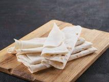 Armeński płaski chlebowy lavash fotografia royalty free