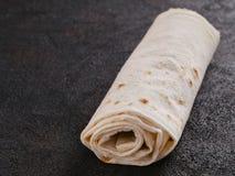 Armeński płaski chlebowy lavash zdjęcie royalty free