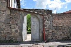 Armeński podwórze Łuk kamień Obraz Stock