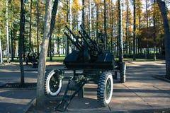 Arme à feu antiaérienne Image libre de droits