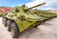 Arme à feu autopropulsée russe NONA-SVK Image libre de droits