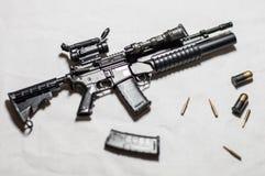 1/6 arme à feu d'échelle Photo libre de droits
