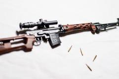 1/6 arme à feu d'échelle Photos libres de droits