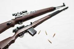 1/6 arme à feu d'échelle Photo stock