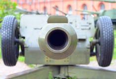 Arme à feu d'artillerie de fragment image stock