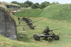 Arme à feu d'artillerie de l'âge de la deuxième guerre mondiale photos stock