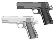 Arme à feu de main Image libre de droits