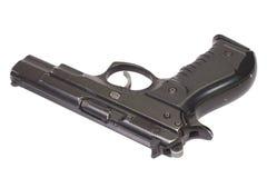 Arme à feu de main d'isolement sur le blanc Photographie stock