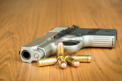 arme à feu de main de 380 millimètres Image libre de droits