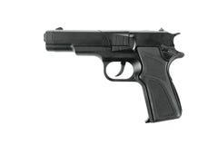 Arme à feu de reproduction d'isolement sur le blanc Images libres de droits