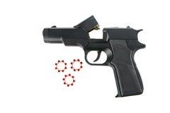 Arme à feu de reproduction d'isolement sur le blanc Photographie stock libre de droits