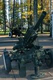Arme à feu militaire Images libres de droits