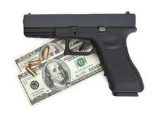 Arme à feu pour la location Photographie stock