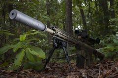 Arme à feu silencieuse Images libres de droits