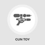 Arme à feu Toy Flat Icon Photos libres de droits