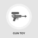 Arme à feu Toy Flat Icon Images libres de droits