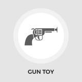 Arme à feu Toy Flat Icon Photos stock