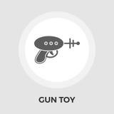 Arme à feu Toy Flat Icon Photographie stock libre de droits