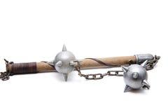 Arme de chevaliers d'étoile de matin vieille Photographie stock libre de droits