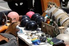Arme faite maison de protestataires, Kiev, Maidan, Ukraine Images libres de droits