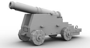 Arme ? feu antique d'artillerie illustration de vecteur