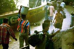Arme Leute in Indien Lizenzfreies Stockbild