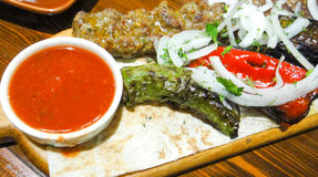 Armeńska kebab mieszanka Obraz Stock