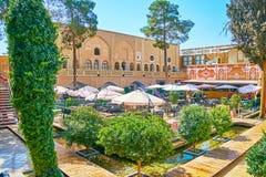 Armeńska restauracja w Isfahan, Iran Obrazy Royalty Free