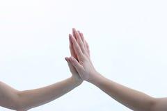 Arme und Hände Stockbild