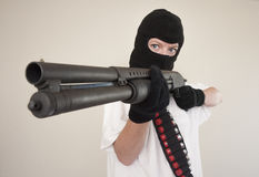 Armed assault attack Stock Photos