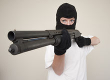 Armed assault Stock Photo
