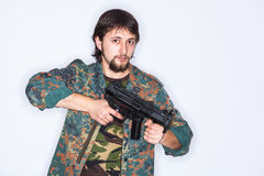 Armed combatant Stock Photos