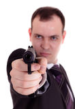 Armed and dangerous Royalty Free Stock Images