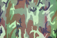 Armed force camouflage fabric texture background Stock Photography