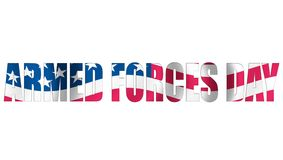 Armed force day Royalty Free Stock Images