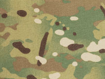 Armed force multicam camouflage fabric Royalty Free Stock Photos