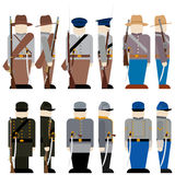 The Armed Forces of the Confederation Stock Photography