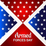 Armed forces day. Royalty Free Stock Images