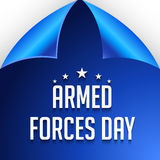 Armed forces day. Royalty Free Stock Image