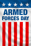 Armed Forces Day USA Royalty Free Stock Photos