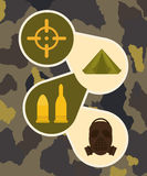 Armed forces design Stock Photography