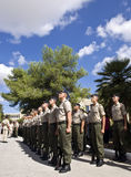 Armed Forces of Malta Recruits Stock Image