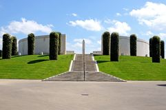 Armed Forces Memorial, Alrewas. Armed Forces Memorial at the National Memorial Arboretum, Alrewas, Staffordshire, England, UK, Western Europe Stock Image