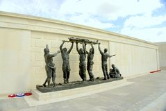 Armed forces memorial. The Armed Forces Memorial is a national memorial in the United Kingdom, dedicated to the 16,000 servicemen and women of the British Armed Royalty Free Stock Photos