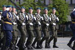 Armed Forces of the Russian Federation Royalty Free Stock Photography