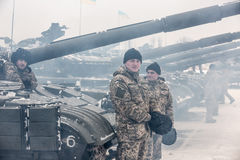 Armed forces of Ukraine. Royalty Free Stock Photography