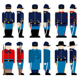 The Armed Forces of the Union army-2 Royalty Free Stock Photography