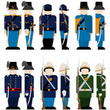 The Armed Forces of the Union army-4 Stock Image